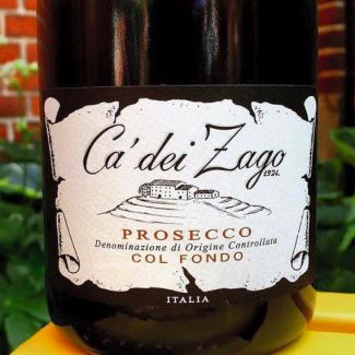 """Ca' dei Zago - Prosecco 2015 """"Col Fondo """""""