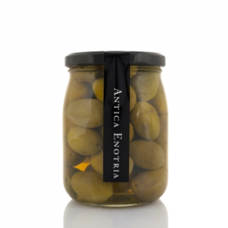 Olive Bella di Cerignola in salamoia (580 ml) - Antica Enotria