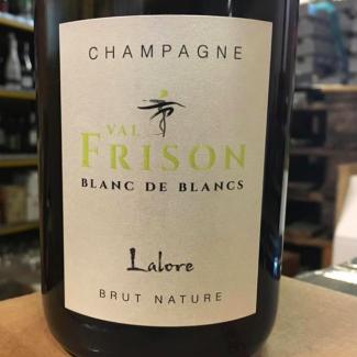 Champagne Bland de Blancs Brut Nature Lalore  - Val Frison