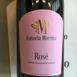 Fattoria Moretto - Lambrusco Grasparossa di Castelvetro Rosè