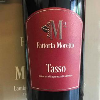 Fattoria Moretto - Lambrusco Grasparossa di Castelvetro Tasso