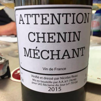 Attention Chenin Méchant 2015