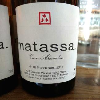Cuvee Alexandria 2015 Vin de France blanc
